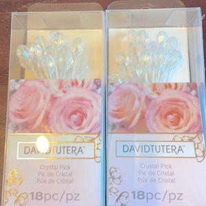 David Tutera Wedding crystal picks!!